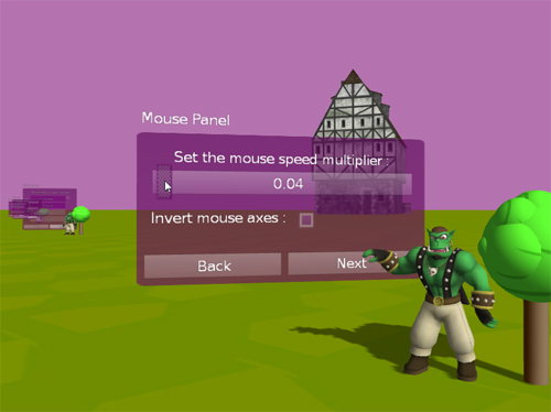 Screen shot Gui